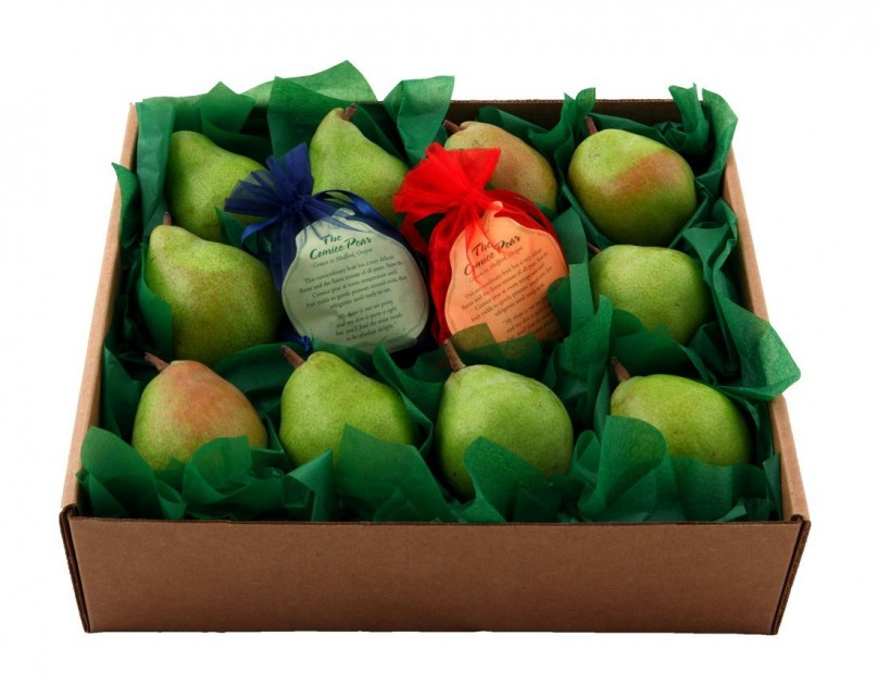 Comice Pears Fruit Box