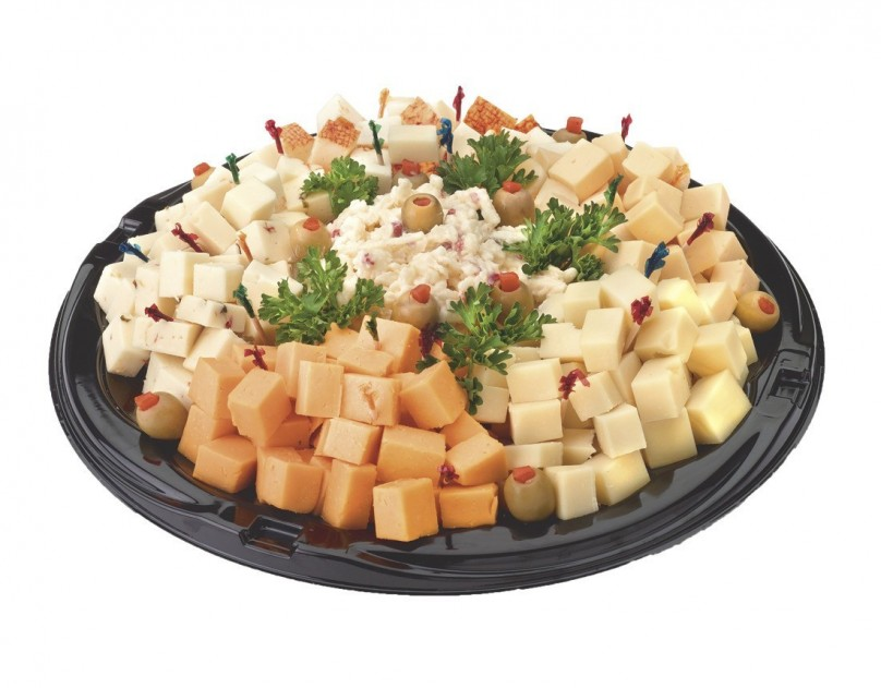 large Cubed Cheese Tray