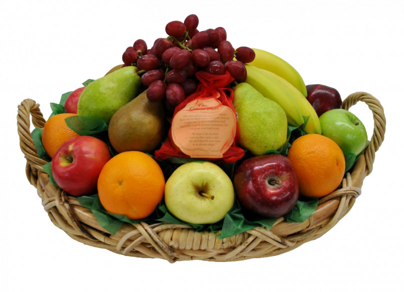 Fruit Feast Deluxe Basket